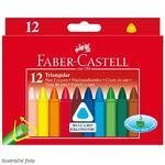 Faber-Castell Voskovky trojhranné - 12 ks