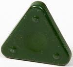 Vosková pastelka TRIANGLE MAGIQUE PASTEL - olivově zelená
