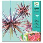 Kirigami skládačka - Papírové hvězdy