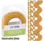 Páska textilní samolepící 15mmx2m - mango