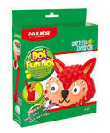 Tvořivá hmota Paulinda Dot Fun Dog 28 +14 g  Zvířátko s doplňky