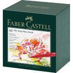 Faber-Castell Popisovače PITT Artist Pen Atelier Box - 60 ks