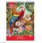 Skicář na kreslení - Papoušek, A4, extra bílý papír, 120g/m2, 20 listů
