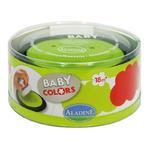 StampoBaby - červená a zelená poduška