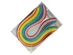 Proužky na Quilling šířka 3mm ze silnějšího papíru - Barevná sada