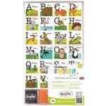 RazítkaStampoScool - zvířátková abeceda v angličtině