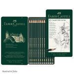 Faber-Castell Sada tužek Castell 9000 Art Set - 12 ks v kovové krabičce