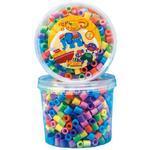 Hama Maxi Zažehlovací korálky 600 ks - mix pastelových barev v dóze