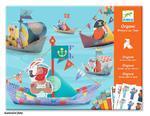 Origami skládačky - Plovoucí lodě