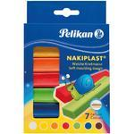 Pelikan Modelína Nakiplast - 7 barev