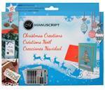 Christmas Creations Kaligrafická sada + pečeť  - Vánoční
