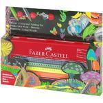 Faber-Castell Pastelky Jumbo Grip neon, metallic - 10ks