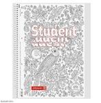 Student blok A4 spirála, linka - Art, 80 listů