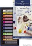 Faber-Castell QUALITY  Měkké pastely - 12 ks