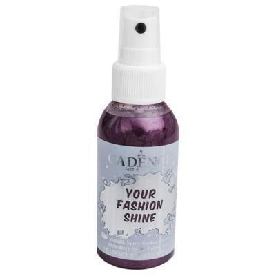 Perleťový sprej na tmavý textil, 100ml - lilková