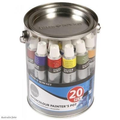 Daler&Rowney Simply Akvarelová sada - 20x12 ml
