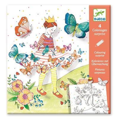 Omalovánky POP-UP Motýlí princezna - 1