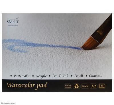 SMLT Blok Akvarel A2, 260 g/m2, 10 listů