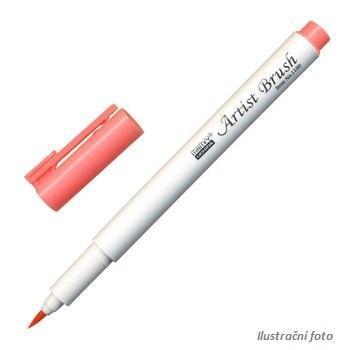 Marvy Artist Brush Popisovač -  korálově růžová
