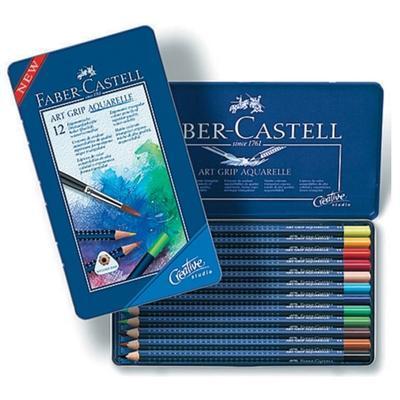 "Faber-Castell Pastelky ART GRIP Aquarelle - 12 ks i pro ""L"" - 1"