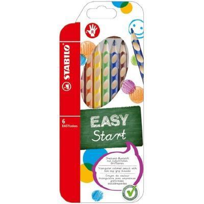 Stabilo EASYcolors 332/6 Pastelky pro praváky  Sada 6 ks - 1