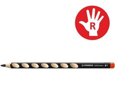 Stabilo EASYcolors 332/750 Pastelka pro praváky - černá  - 1