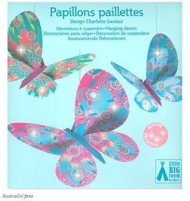 Závěsná dekorace - Motýli - 1