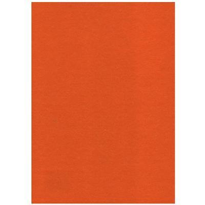 Filc 23 x 30 cm - oranžový