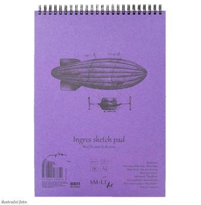 SMLT Blok Sketch Ingres A4, 130 g/m2, 30 listů
