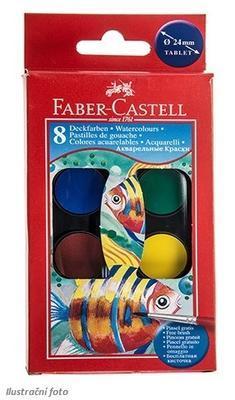 Faber-Castell Vodovky 8 barev  - 1