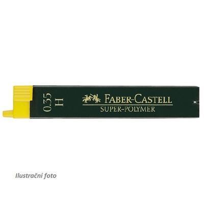 Faber-Castell Grafitové Tuhy SUPER POLYMER do mikrotužky - 0,35 mm, H