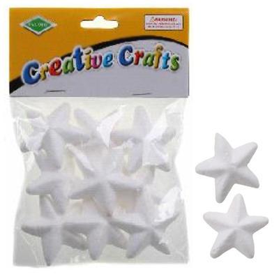 Polystyrenové hvězdy 5 cm