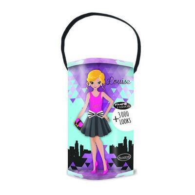 StampoFashion Převlékací panenky - Holky z města - 1