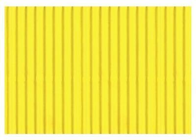 Karton vlnitý 50x70cm, 300g/m2 - světle žlutý    - 1