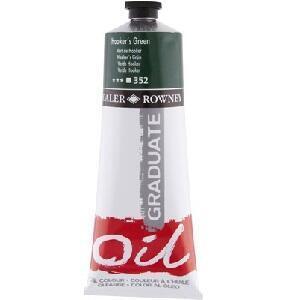 Daler & Rowney Graduate Oil 38 ml - Hooker´s green 352 - 1