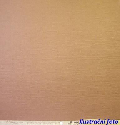 Scrapbookový papír COR 241 30x30 cm 160 g LATTE
