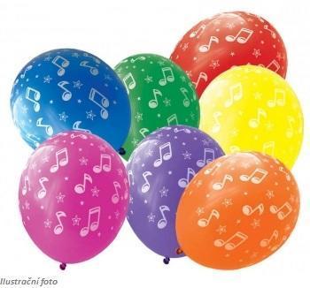 Balónky - hudba 7 ks