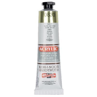 Akrylová barva Acrylic 40 ml č.0830 - zlatá