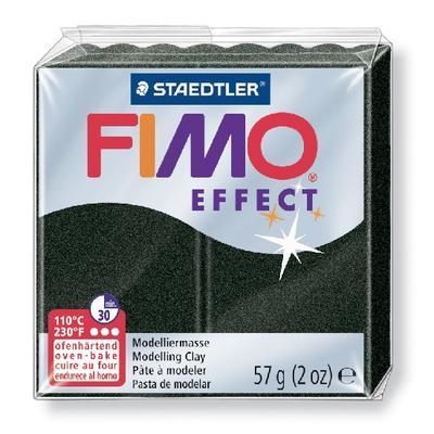 FIMO Effect 57 g č. 907 - černá perleťová - 1