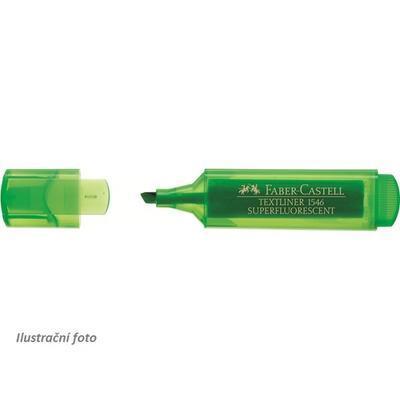Faber-Castell Zvýrazňovač TEXTLINER 1546 - zelený
