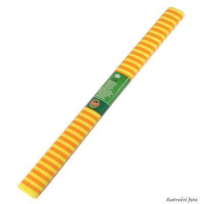 Koh-i-noor Krepový papír 9755/67 - pruhovaný žluto oranžový