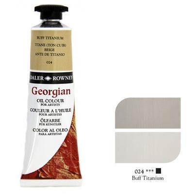 Daler & Rowney Georgian Oil 38ml - Buff Titanium 024, olejová barva - 1