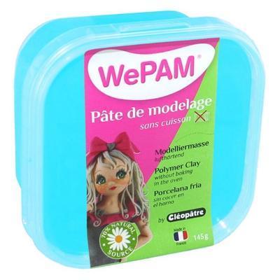 Modelovací hmota WePAM 145 g - perleťová tyrkysová
