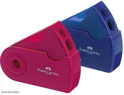 Faber-Castell Ořezávátko dvojité modré/červené