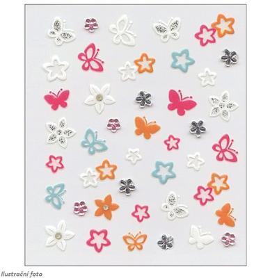 Susy Card samolepky holky motýlci - 1