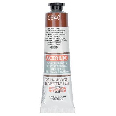 KOH-I-NOOR Akrylová barva Acrylic 40 ml č.0640 - hněď světlá
