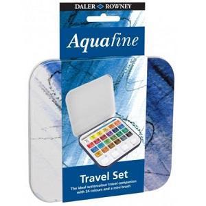 Daler & Rowney Aquafine Travel set - 24ks  - 1