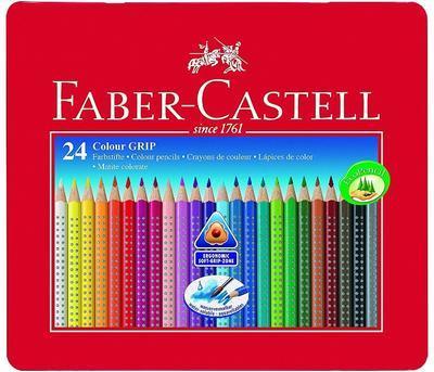 "Faber-Castell Pastelky Grip 2001 - 24 ks i pro ""L"" - 1"