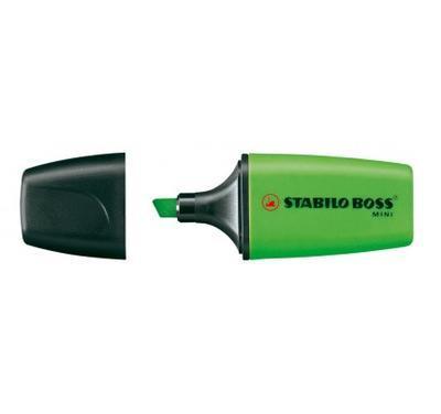 Zvýrazňovač STABILO BOSS MINI 07/33 - green