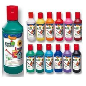Jovi Jovidecor Rychleschnoucí dekorativní barvy 250 ml - tmavězelená - 1